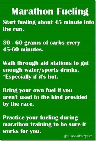 Marathon Training: What is your Fueling Plan?