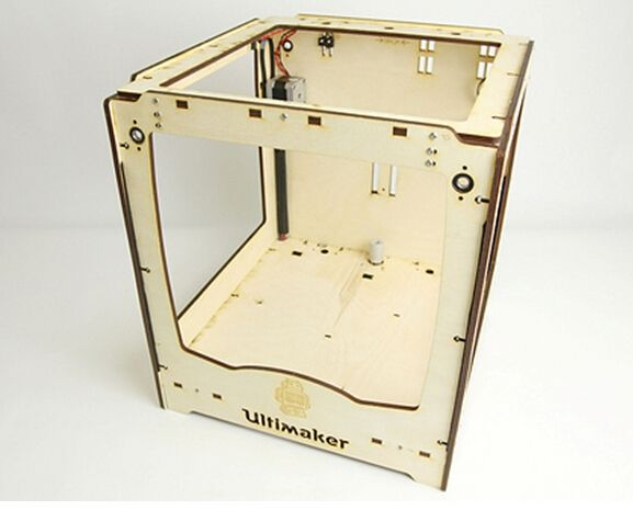 140.06$  Watch here - http://aliuji.worldwells.pw/go.php?t=32425039353 - 3d printer partsUltimaker Original frame laser cut frame wooden in 6mm plywood