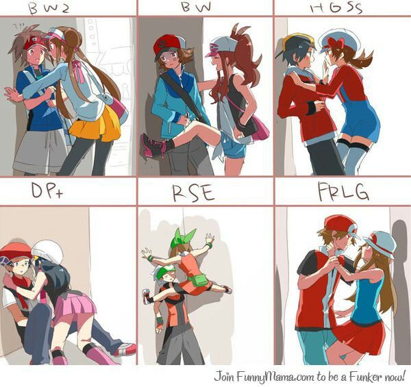 Trainer In Love. BUT LIKE SERIOUSLY. THE POSE DAWN IS IN