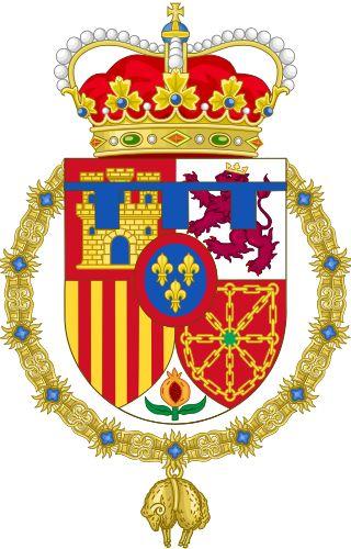 Coat of Arms of Leonor, Princess of Asturias.svg