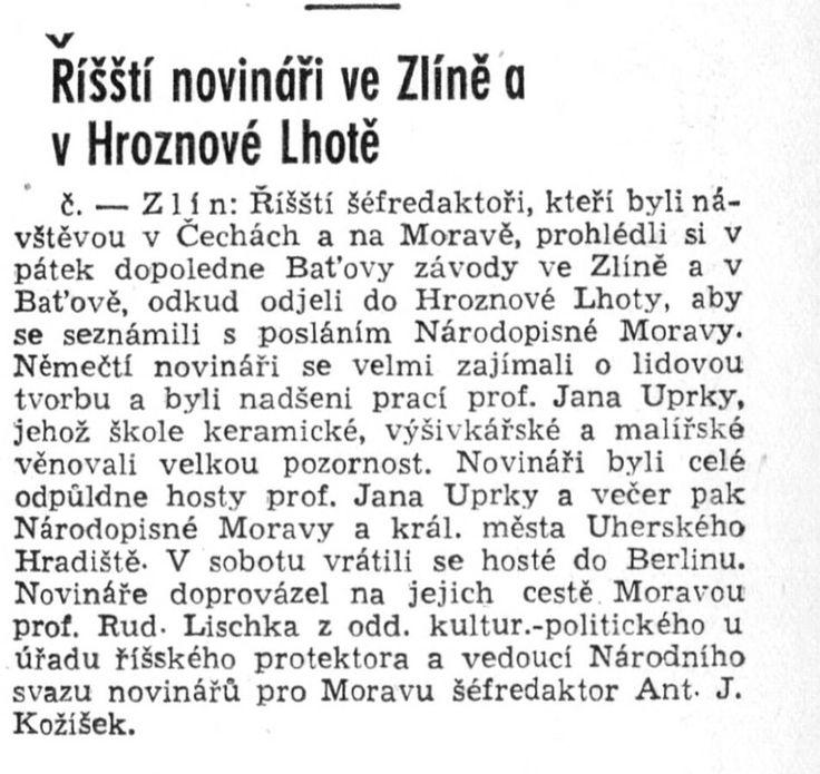 Moravská orlice, 8.3.1942