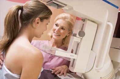 Les signes à surveiller pendant l'examen du #cancer du sein sont les suivants : apparition d'une boule dans le sein, l'aspect de la peau, la palpation des ganglions et la forme du mamelon et de l'aréole.