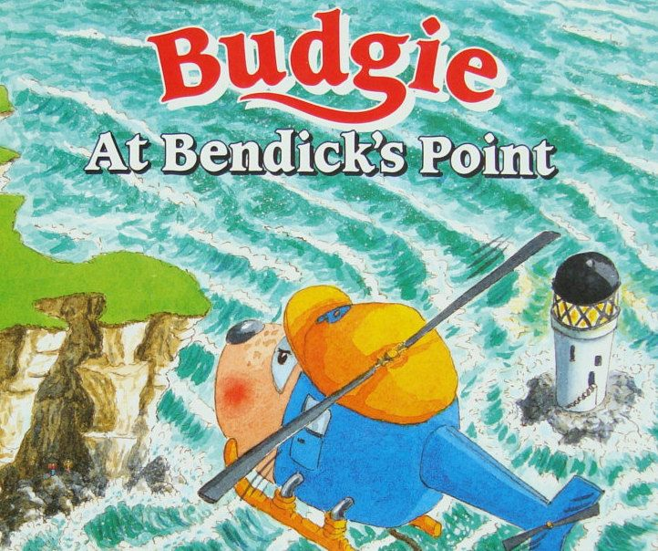 Budgie the Little Helicopter - At Bendick's Point by H.R.H. The Duchess of York - Sarah Ferguson - Children's Illustrated Story Book by OfftheShelf2015 on Etsy