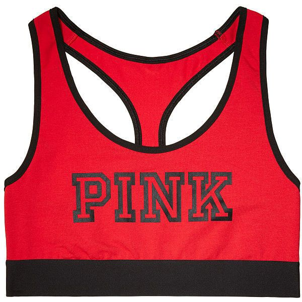 Shop All Bras - PINK ❤ liked on Polyvore featuring intimates, bras, pink bra, victoria's secret and victoria secret bra