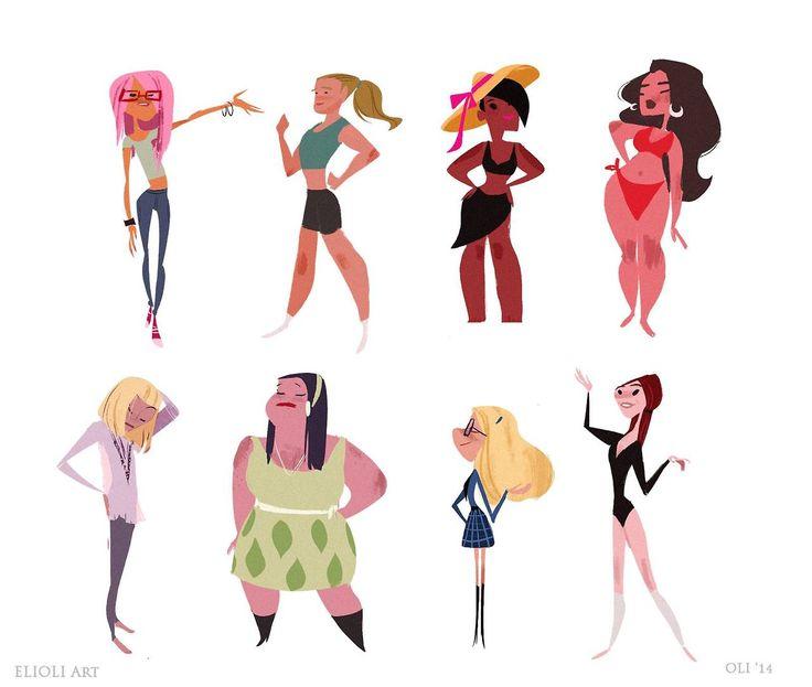 Character Design By 100 Illustrators Pdf : Best illustration xx images on pinterest character