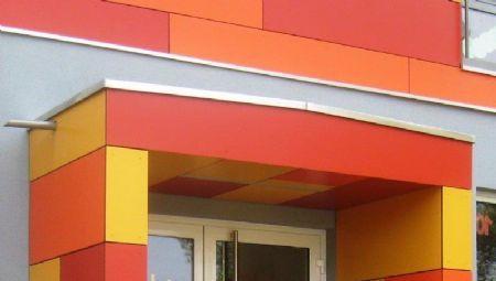 Architectura - Gevel met functioneel kleurenconcept siert kleuterschool in het Duitse Dorhan / @ROCKPANEL Group