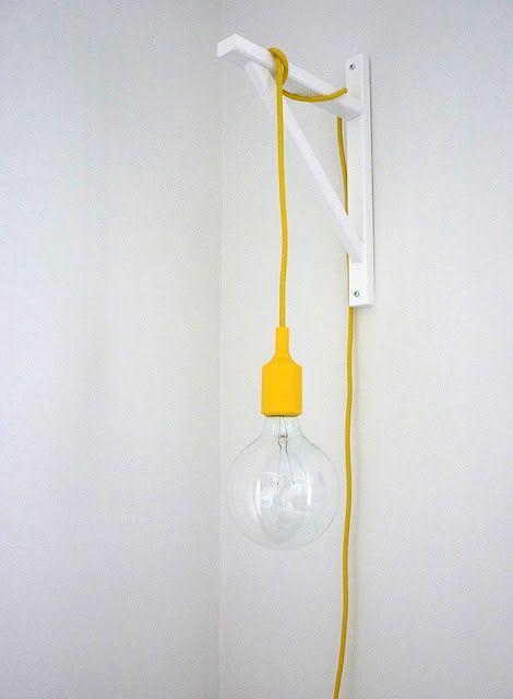 Les 25 meilleures id es de la cat gorie lampes suspendues industrielles sur pinterest - Comment accrocher une guirlande lumineuse au mur exterieur ...