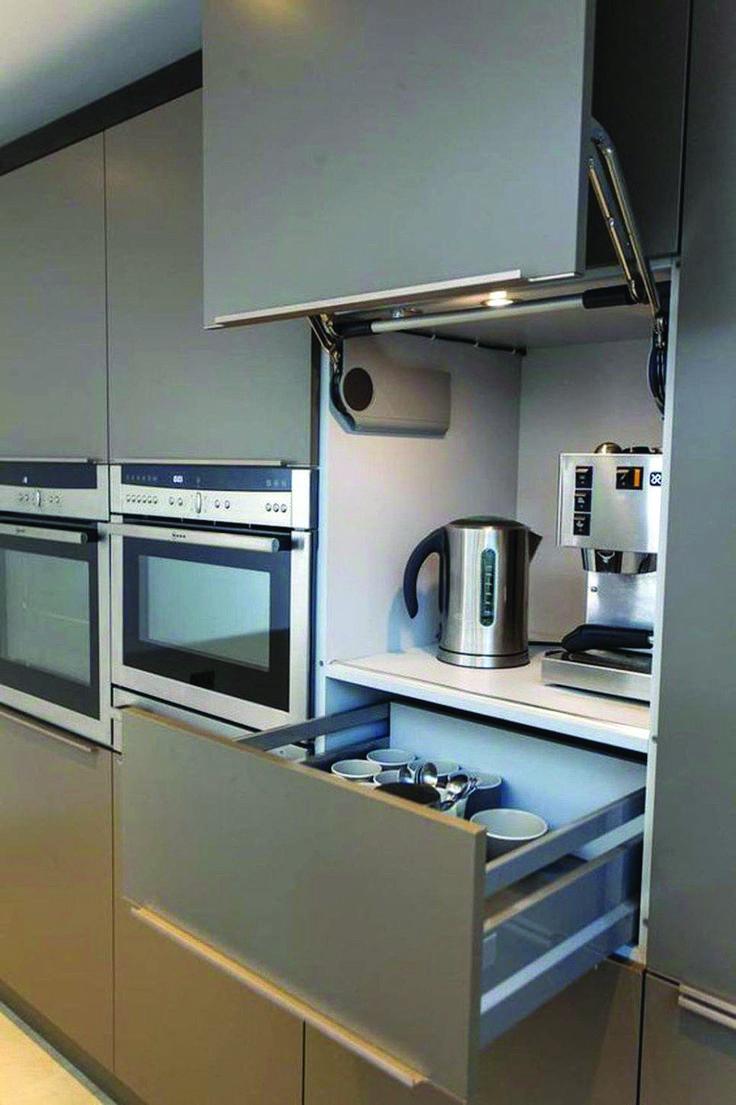 Rolltür Küche