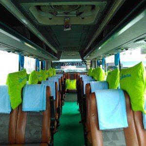 Sewa bus Pariwisata Jogja seat 31