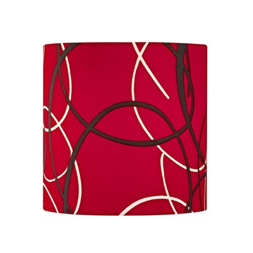 red drum lamp shade with uno assembly. Black Bedroom Furniture Sets. Home Design Ideas