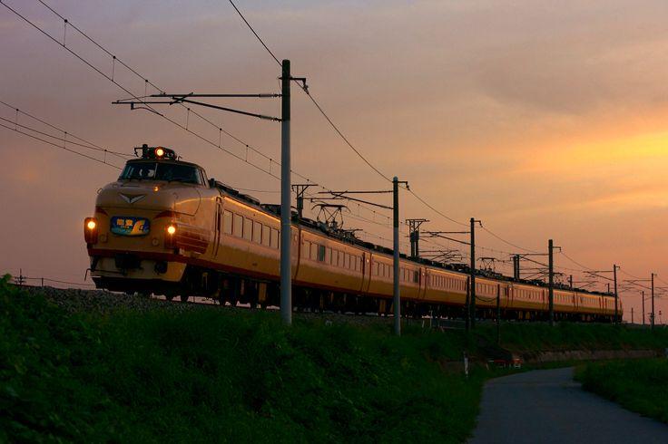 Japanese Railway <489 series / EXP. NOTO>