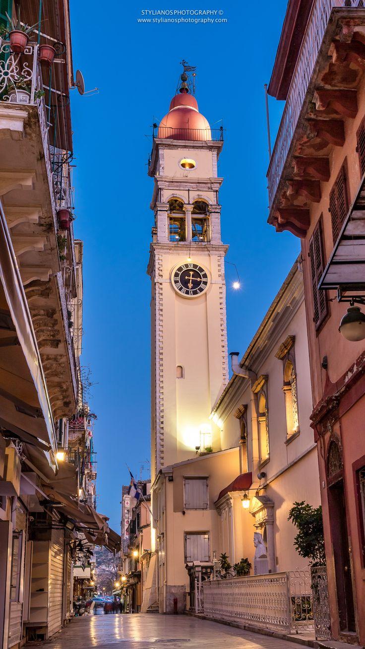 Saint Spiridon - Corfu Old Town #corfu #kerkyra #ionianislands #greece #greeceislands  #travel #traveller  #traveling #tourism #cityshape #cityscapes #stylianosphotography #corfuartphoto #unescohellas #corfuoldtown #fineartphotography #travelawesome #panoramaphoto #cityphotography #citychapes #cityscene #saintspiridon