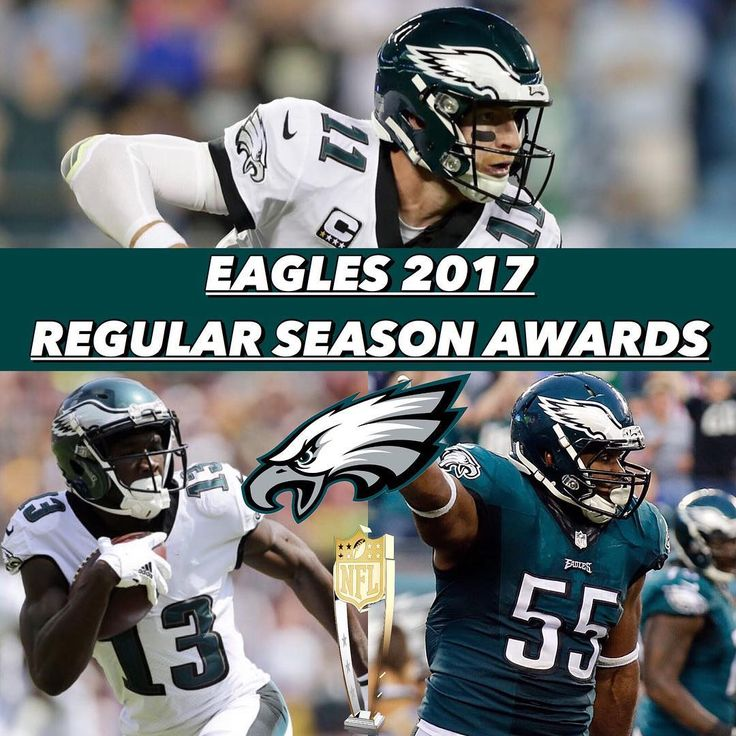 Philadelphia Eagles 2017 Regular Season Awards:  MVP: Carson Wentz OPOY: Nelson Agholor  DPOY: Brandon Graham Most Improved: Jason Kelce Comeback Player of the Year: Nelson Agholor  Best FA signing: Alshon Jeffery Best Rookie: Derek Barnett Most Inconsistent: Hal Vaitai Biggest Bust: Torrey Smith Most Underrated: TIE - Tim Jernigan Brandon Brooks Most Overrated: Jalen Mills (I STILL LIKE HIM!) Best QB: Carson Wentz Best RB: Jay Ajayi Best WR: TIE - Nelson Agholor/Alshon Jeffery Best TE: Zach…