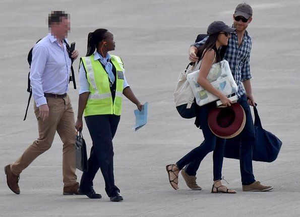 """Yesterday, Prince Harry of England and his girlfriend Meghan Markle went to Africa for African safari and Meghan's 36th birthday. There are claims that Harry could be planning to propose to Markle (According to newspaper The Sun). (Africa holds a special place in the hearts of the British royals. Harry's brother, Prince William, asked Kate Middleton to marry him there in 2010 as they stayed in a log cabin in Kenya). A royal source said: """"Harry has been planning this holiday for a long time"""