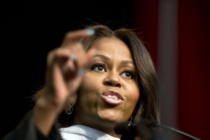 Michelle Obama's forceful speech on race at Tuskegee University MAY 9 2015    The first lady talked about race, her critics, motherhood and more during a May 9 commencement address at Tuskegee University in Alabama