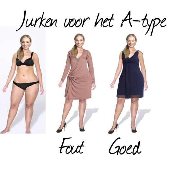 Jurken voor het A-Type by justbeautiful on Polyvore featuring mode, Enelle London and kledingadvies