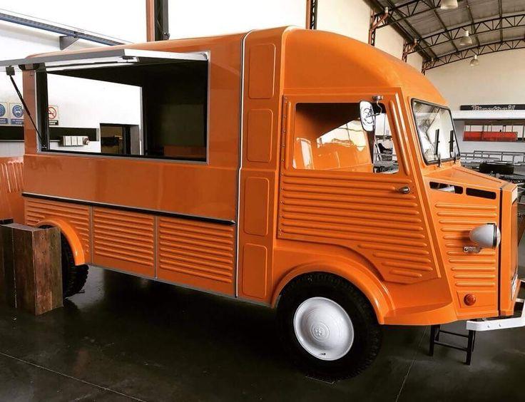 Pin de York Cluni en Foodtrucks Camion de comidas Food