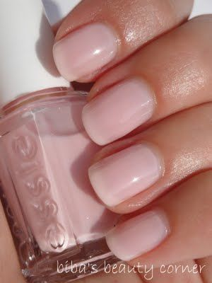 Essie Better Together.  This is what an actual French manicure is supposed to look like - pale pink or nude that just barely allows the tips of the fingernail to show through.
