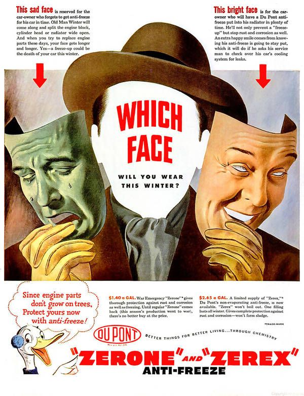 Comedy and tragedy in a WWII anti-freeze ad - Boing Boing