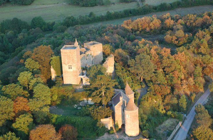 Château de Brancion.