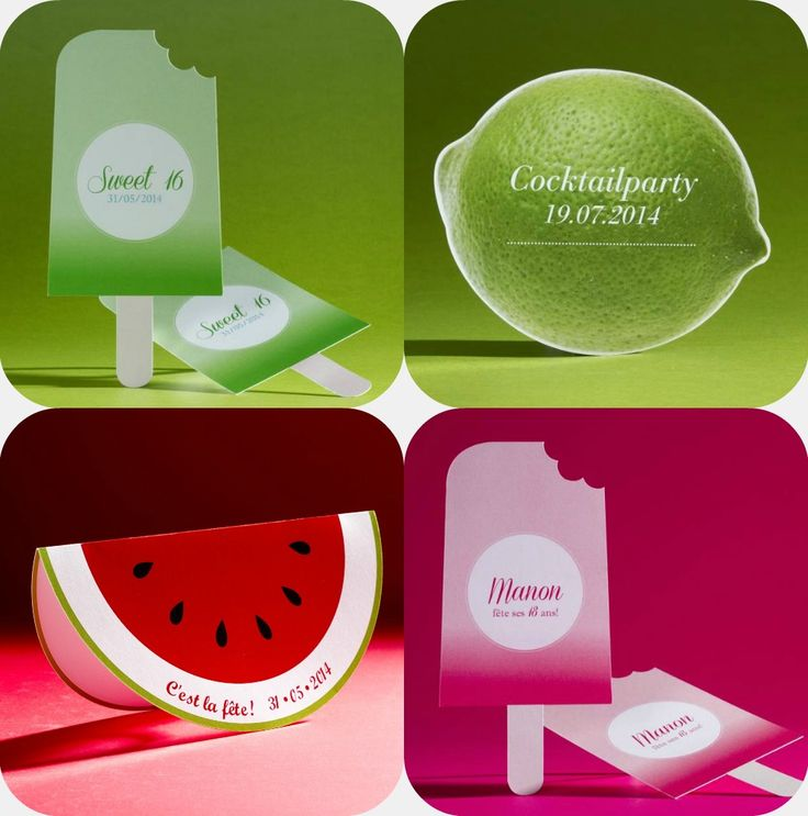 #partyinvitation #party #mojito #summer #lemon #uitnodiging #Tadaaz #watermelon #ice