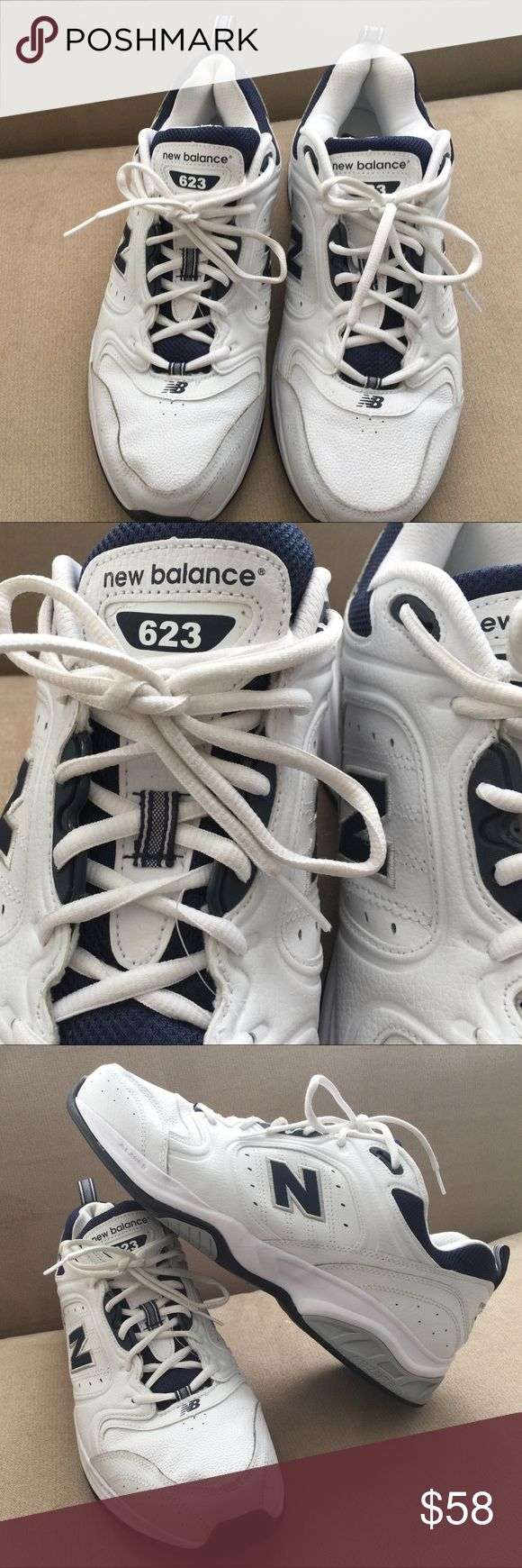 New Balance 623 ABZTRB Training size 14 Brand New No Box. White Color. Training Shoes, man's size 14. New Balance Shoes Athletic Shoes