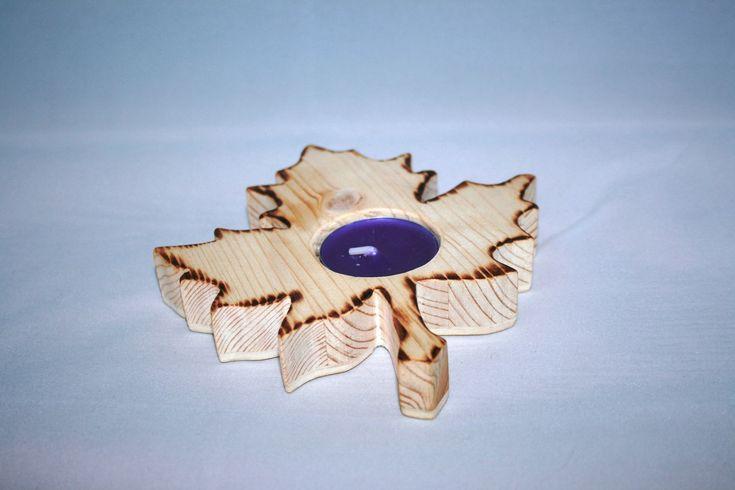 Suport lumânare – Autumn Leaf – Crafts Corner