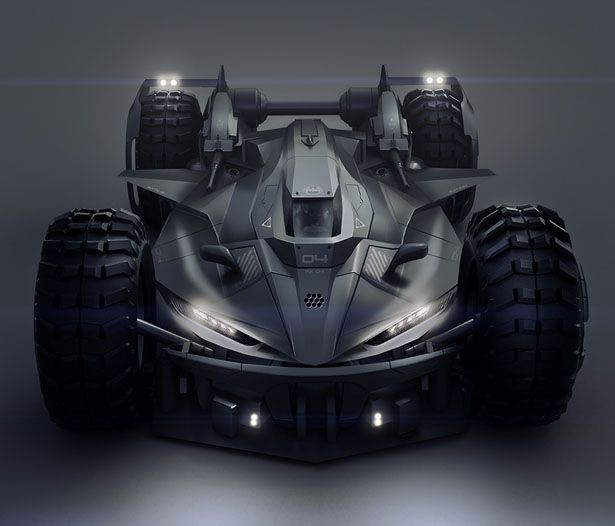 Batmobile Concept Car by Encho Enchev                                                                                                                                                                                 More