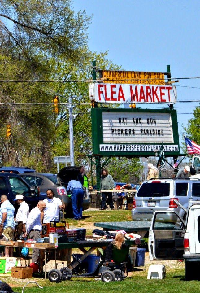 Harper's Ferry Flea Market in West Virginia!
