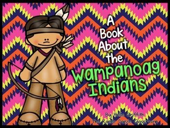 *FREEBIE* A Book About The Wampanoag Indians {PowerPoint Presentation}