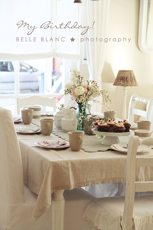 Table for easter by BELLE BLANC