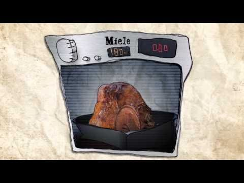 Shannon Bennett's Xmas Turkey - cute animated cooking video. Now to find some hay...