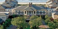 """The Sanctuary at Kiawah Island - No. 75 out of 100 Best Hotels in the World by Conde Nast Traveler. """"This is one of the best places for an active vacation."""" With 24 tennis courts, 5 golf courses, and 6 pools, this four-story oceanfront resort 30 minutes from Charleston has """"one of the best combinations of accommodations, service, food, and golf on the planet."""""""