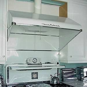 Kitchen Hoods For Sale Black Cabinets Vintage Range Hood 1954 Vent A In White These Below Are Kitchens To Feed Your 2019 Pinterest Stove And
