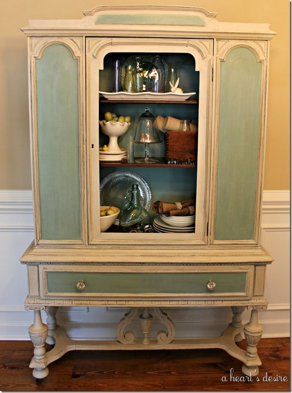 134 best China Cabinets/Hutches images on Pinterest | Refinished ...
