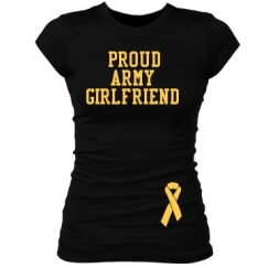 Customize your own Army Girlfriend Shirts at CustomizedGirl.com!