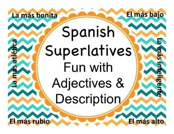 Fun activity that mirrors a Senior Superlatives (funniest, most likely to succeed, etc) but for Spanish class.  Creative!