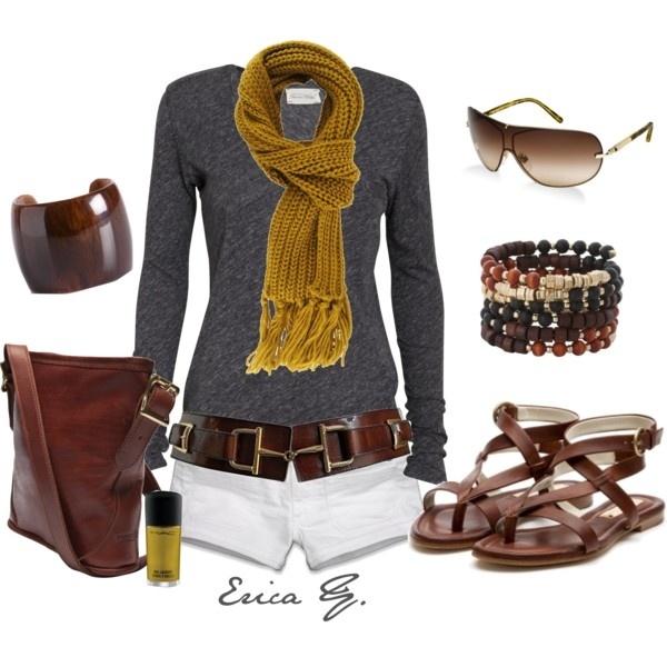 Cute: Fashion, Style, Dream Closet, Simple, Outfit, Long Sleeve, Longer Shorts, Bucket Bag