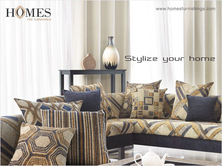 Now is the time to up the #Style factor of your #Home. Explore more #Collections on www.homesfurnishings.com #HomeFabrics #Cushions #Curtains #Upholstery #HomesFurnishings #Furnishings #Decor #HomeDecor