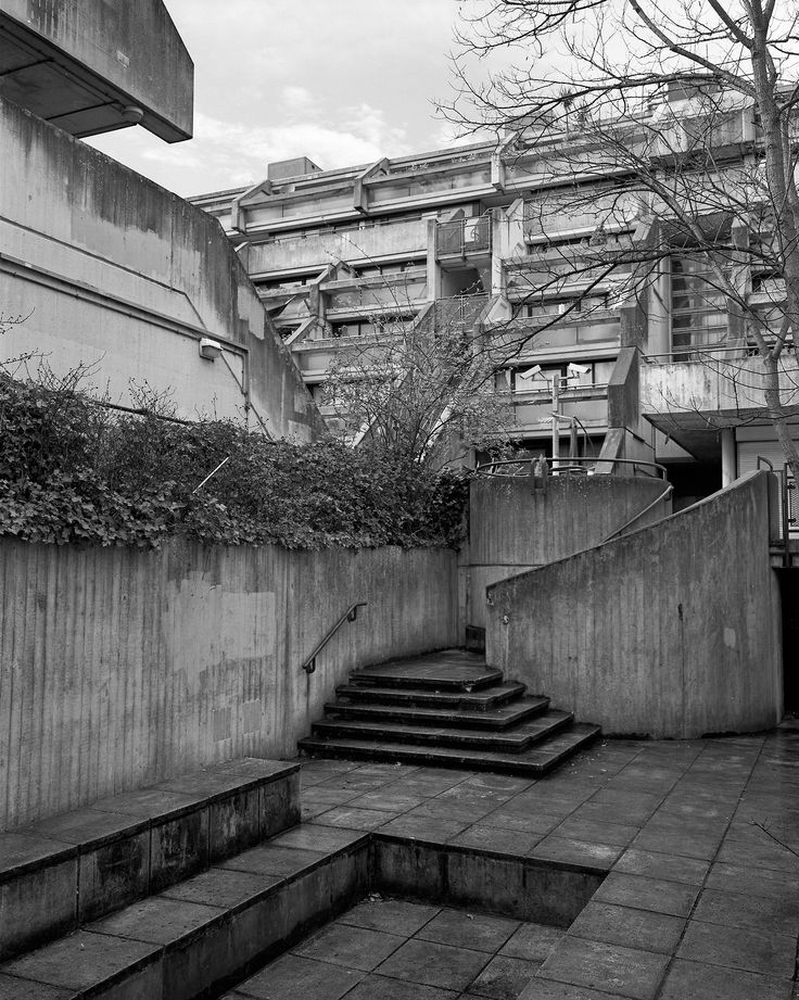 Alexandra Road The estate was designed and constructed between 1968-1978 by architect Neave Brown and Sidney Cook.  It appears in Kingsman:The secret service.