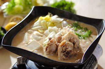 鶏鍋~酒粕鍋~酒粕湯葉ご飯 #Eレシピ