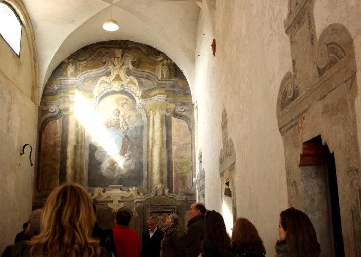 Il dormitorio dei frati domenicani si trova accanto alla chiesa di San Giovanni in Canale, al piano superiore del chiostro. Di norma è chiuso al pubblico.