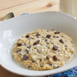 Oatmeal Breakfast Cookie Quick And Healthy Make Fresh In The Microwave