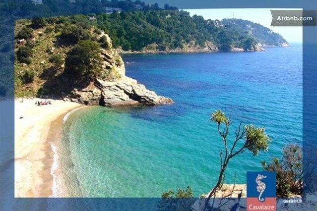 Best beach next to Cavalaire-sur-Mer! <3