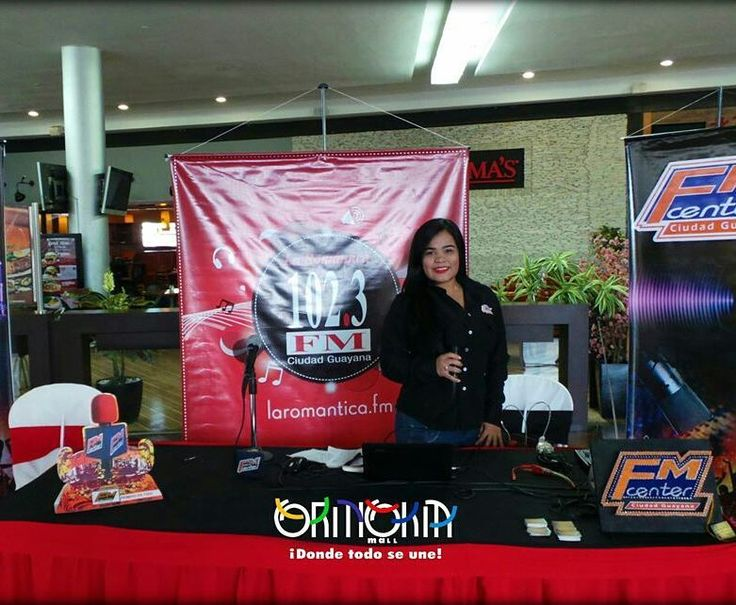 Hoy #SencillamenteDelicioso en @orinokia_mall - RadioMaratón con la @laromantica1023 desde #OrinokiaMall! Transmisión totalmente en vivo! #LaRomantica102.3  #Radio #Romántica #Paradadelamor #sintonía #fmcenter #directoatussentidos #102.3fm #ZonaGourmet #DondeTodoSeUne