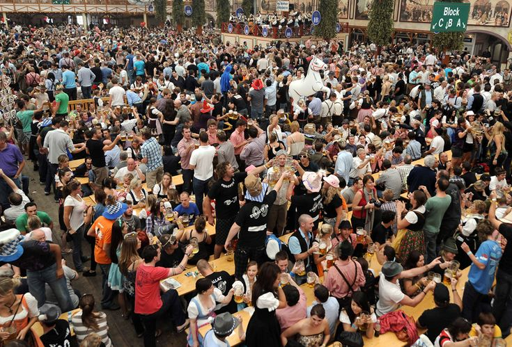 Oktoberfest - one day I will be among these drunk bastards
