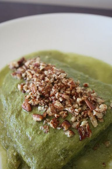Pescado en salsa de cilantro y nuez | Cocina y Comparte | Recetas de Ana Fácil de Digerir