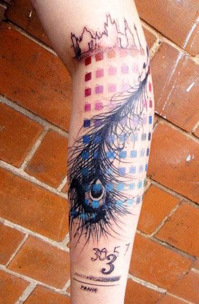 Abstract Tattoo by Xoil Tattoo - http://worldtattoosgallery.com/abstract-tattoo-by-xoil-tattoo-52/