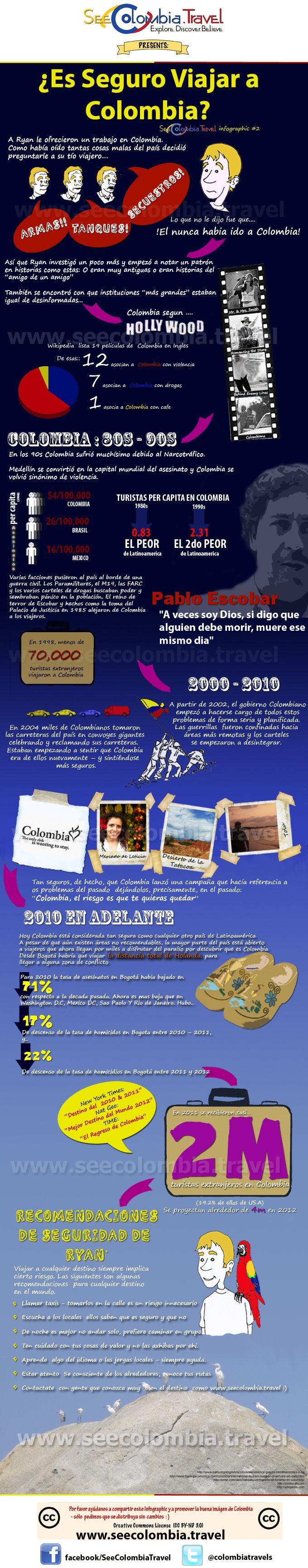 Es seguro viajar a Colombia -See Colombia Travel ESP