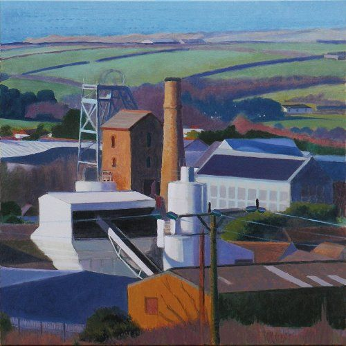 industrial_heartland 80 x 80 cms Tom Henderson Smith. Click the picture or 'visit site' to access a link to its Artstack page where there are 'zoom' and 'view in room' facilities.